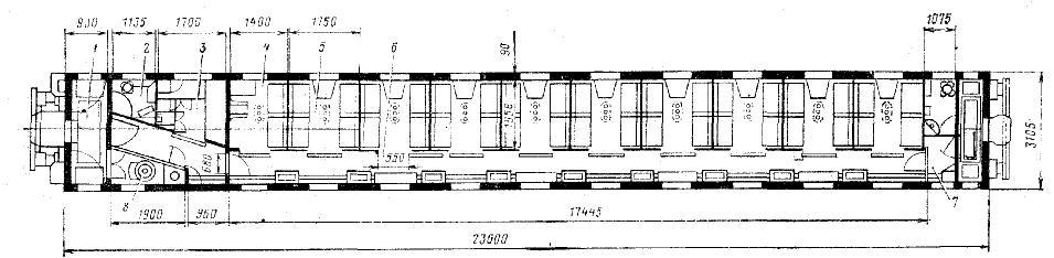 вагона с четырехместными