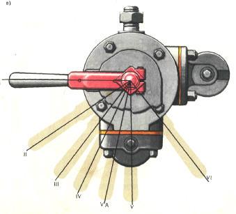 Ручка крана машиниста усл. № 394
